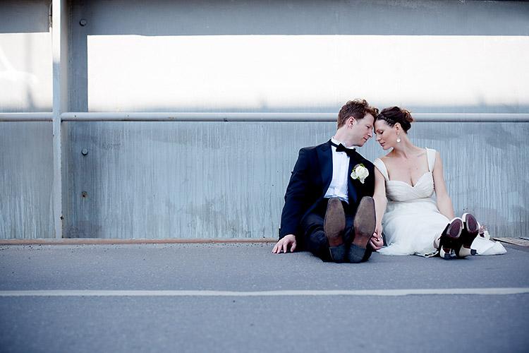 Annorlunda bröllopsfotografering i Stockholm