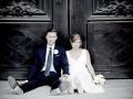 Konstnärlig bröllopsfotografering i Stockholm