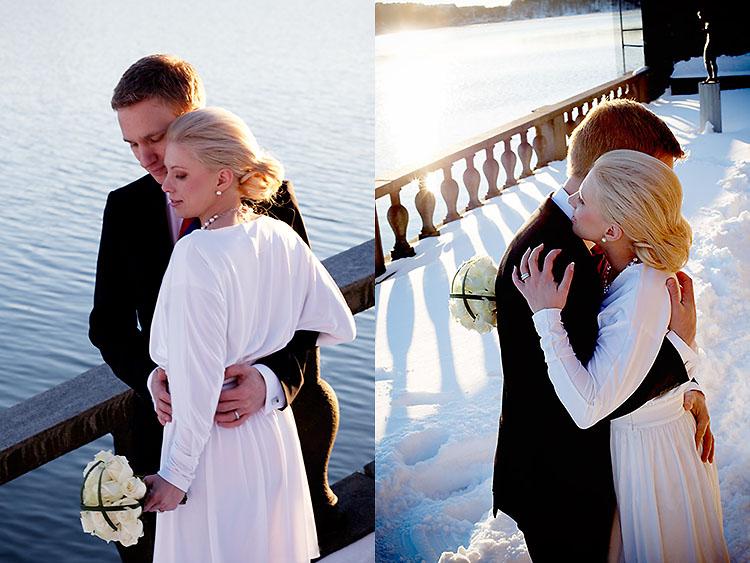 Vigsel i Stockholms Stadshus, Malin och Anders Jessica Lund