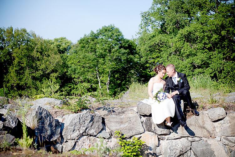 Bröllopsfoto Hagaparken