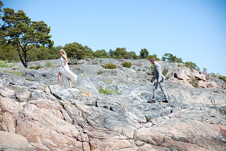 bröllopsfotograf Sandhamn