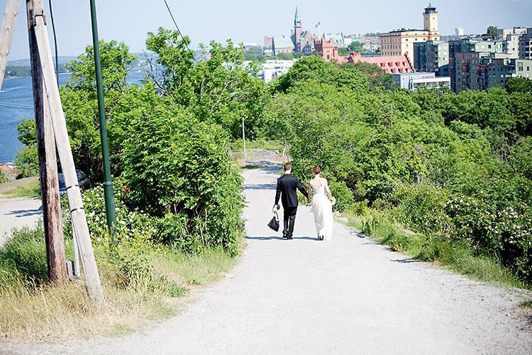 bröllopsfoto Fåfängan