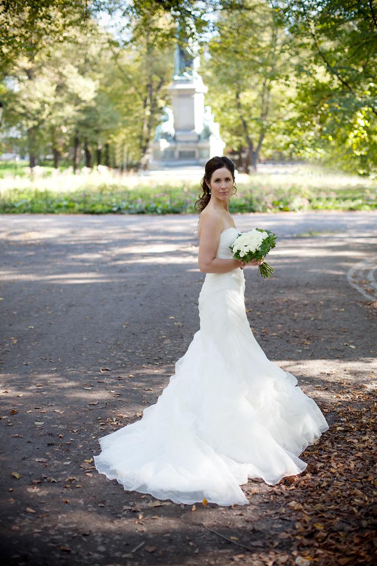 Bröllopsfotograf Humlegården
