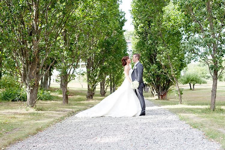 Bröllopsfotografering Bergendals