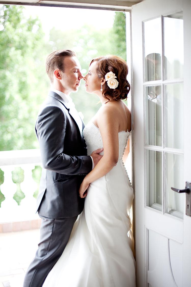 Bröllopsfotografering i herrgårdsmiljö