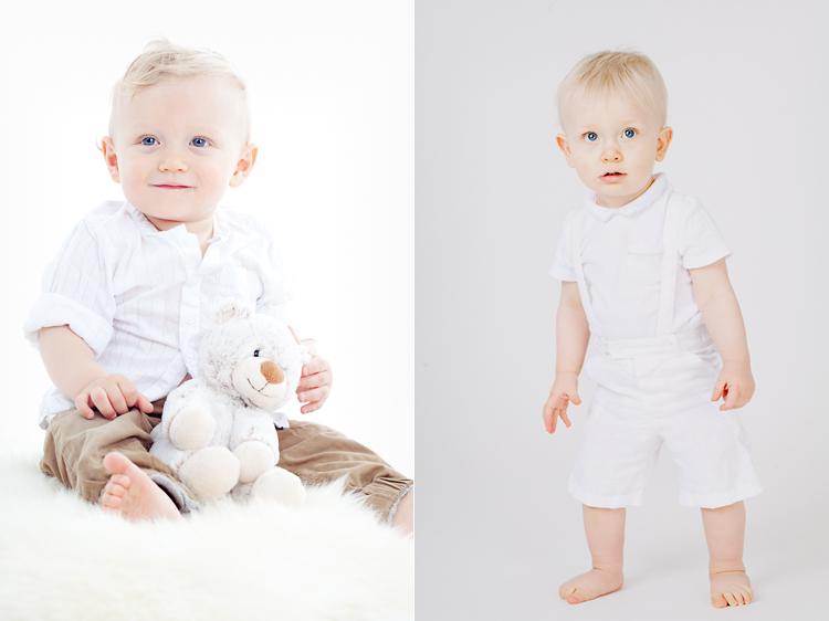 Barn fotograferade i studio av barnfotograf i Vasastan Jessica Lund