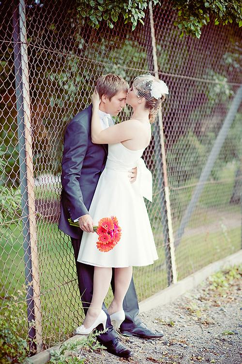 Vintagebröllop fotograferat på Långholmen