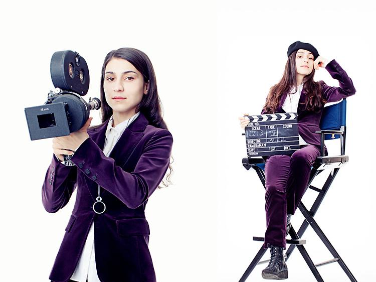 Filmkamera och rekvisita från Kameraten