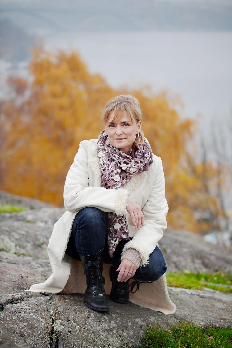 Marie Rickardsson på Skinnarviksberget