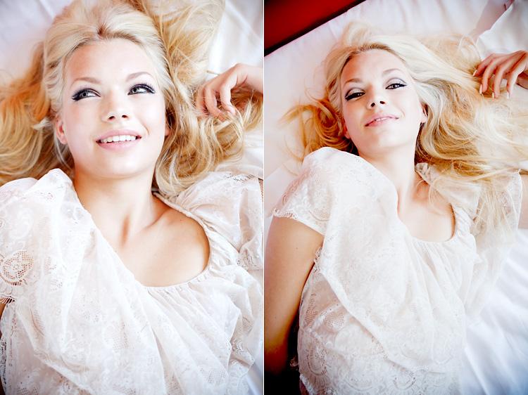 Fotomodell fotad på Scandic Continental av modefotograf Jessica Lund
