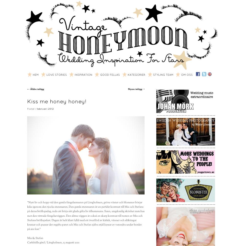 Jessica Lund publicerad på Vintage Honeymoon