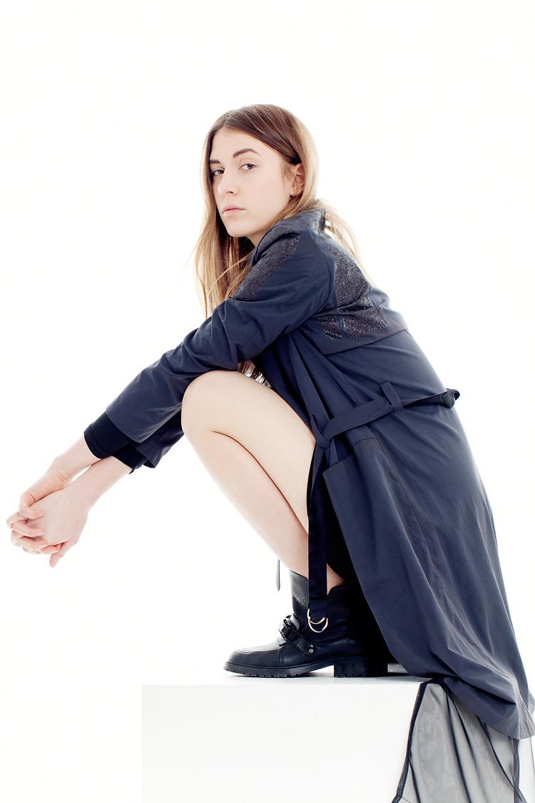 Ung modedesigner