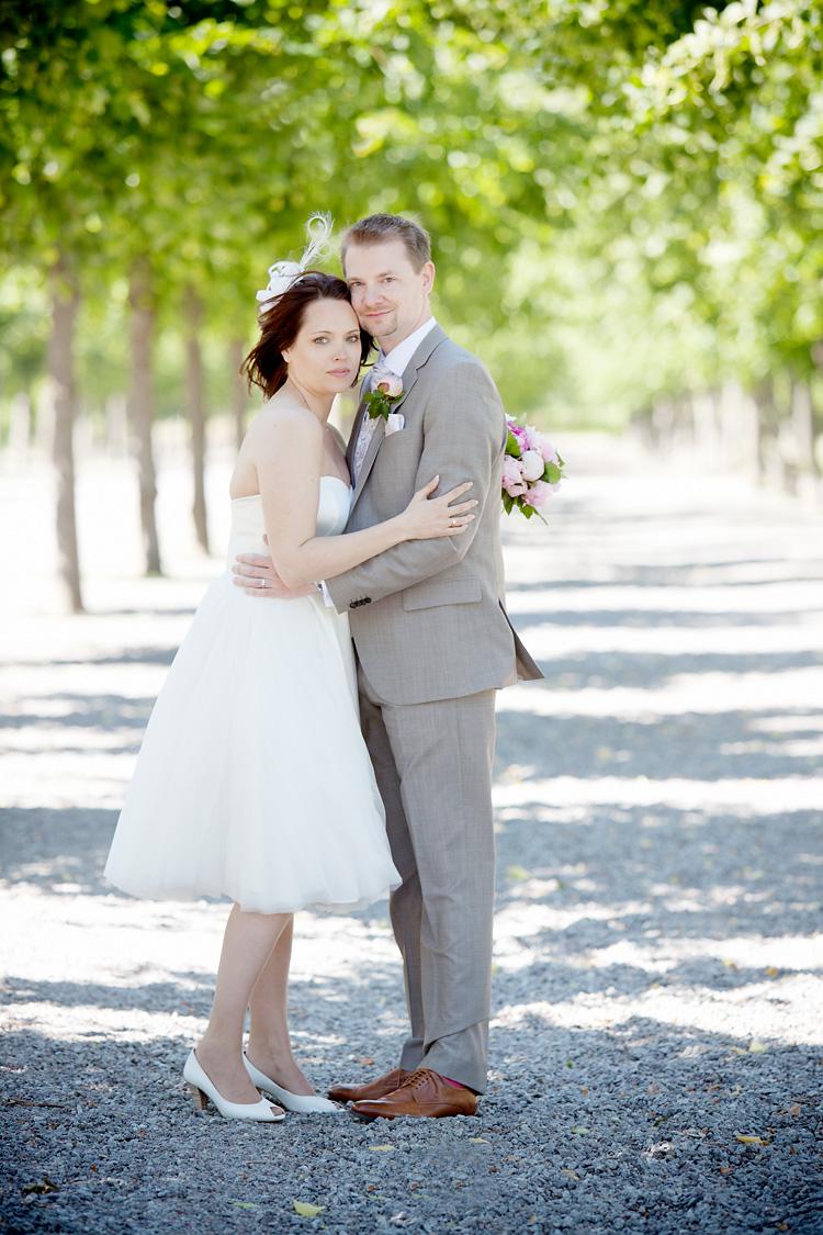 bröllopsfotografering Drottningholm