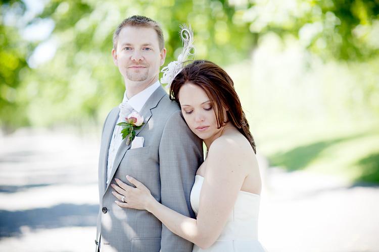 romantisk bröllopsfotografering Drottningholm