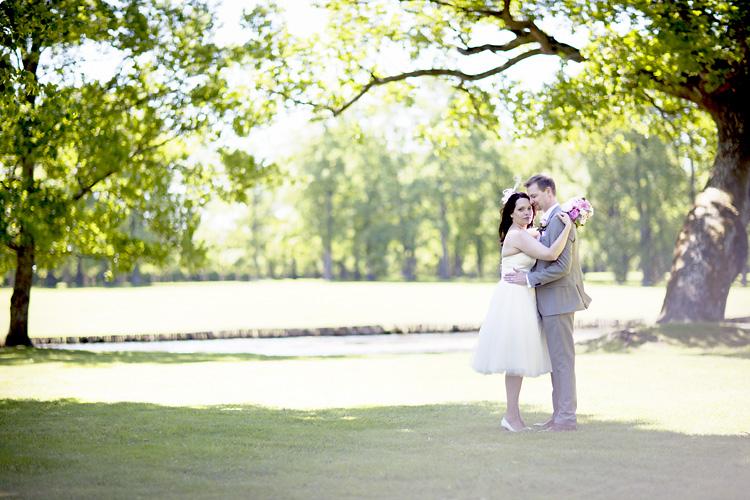 bröllopsfoto Drottningholm