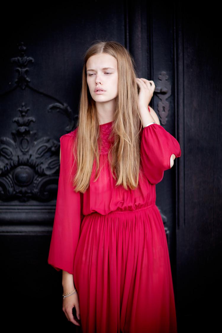 Newface shot by fashion photographer Jessica Lund