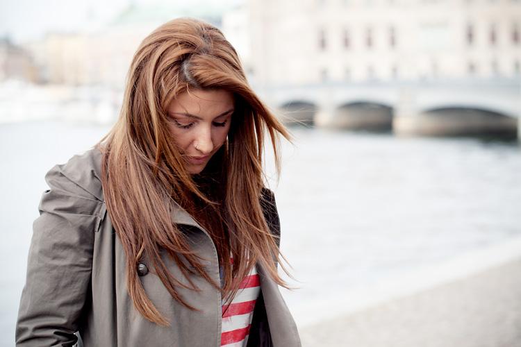 Helena Paparizou fotograferad av Jessica Lund på Skeppsholmen