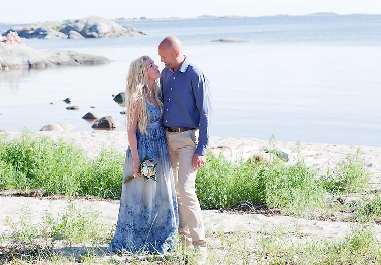 fotograf i Sandhamn fotar bröllop