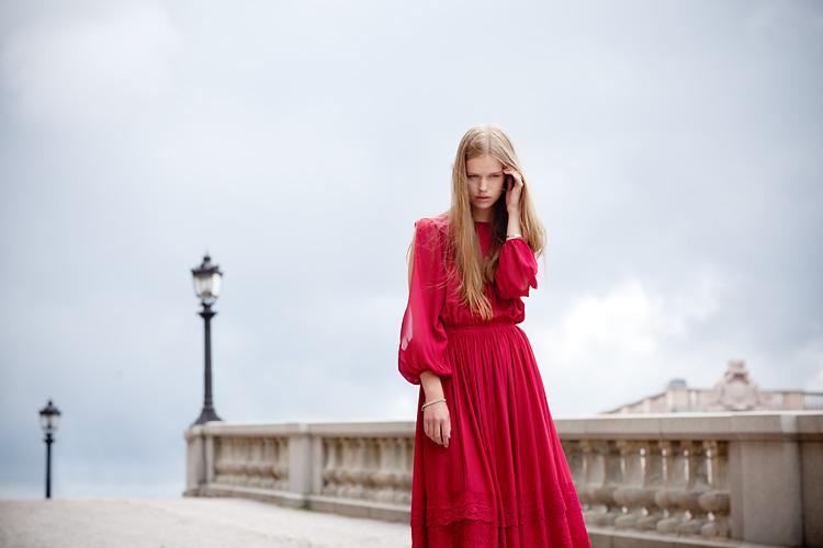 Newface shot by fashion fashion photographer Stockholm Jessica Lund
