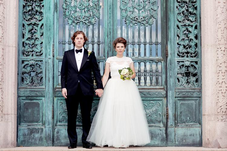 etablerad bröllopsfotograf
