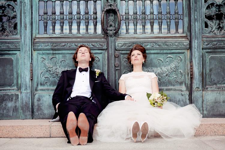 brudpar fotograferade av Jessica Lund