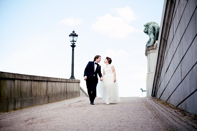 Citybröllop med Jessica Lund som fotograf