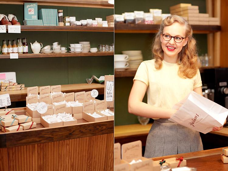 disken och försäljning Pärlans konfektyr