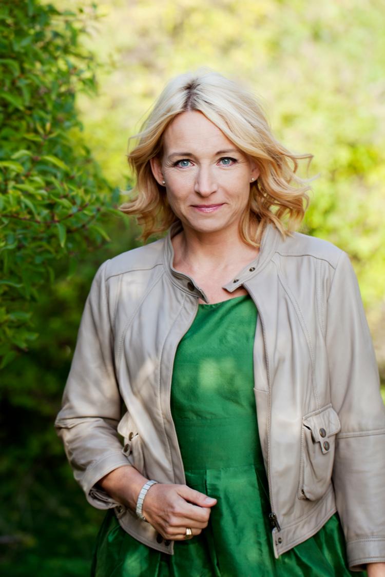 Martina Haag fotograferad av Jessica Lund i Alvik