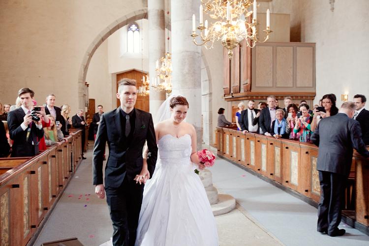bröllop kyrka Lärbro, Gotland