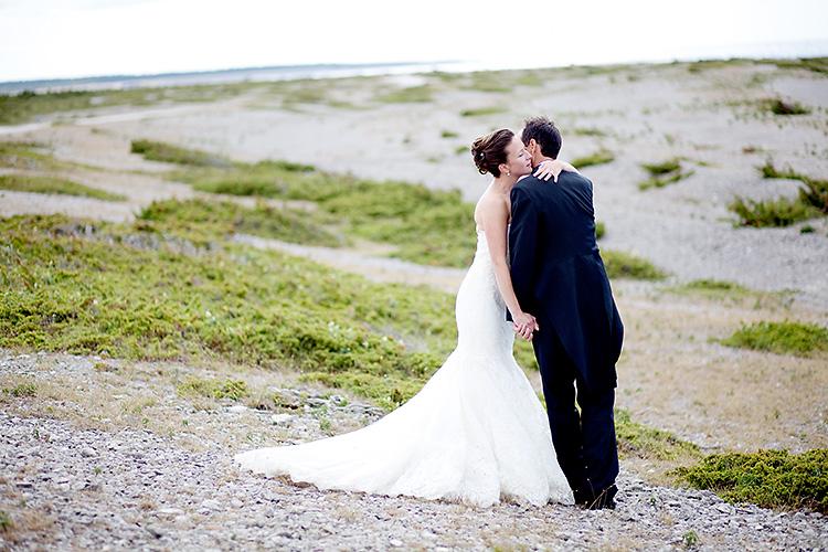 bröllopsfotografering på fårö