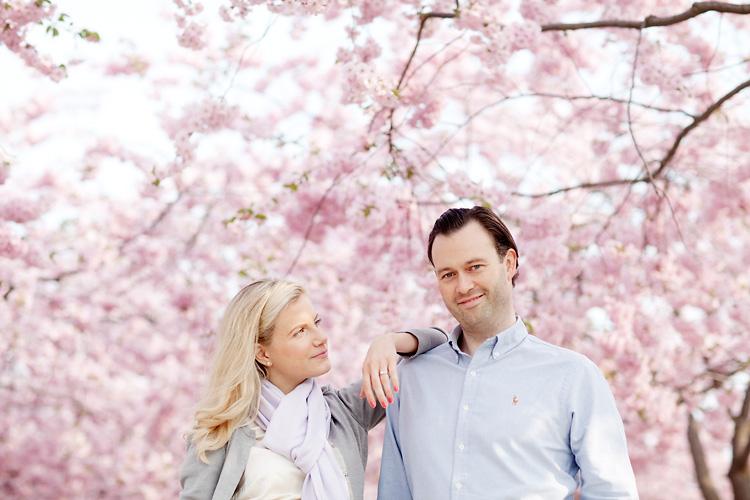 förlovningsbilder Stockholm i Kungsträdgården