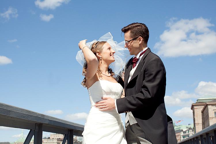 Bröllop på Skeppsholmen och i Stockholms skärgård