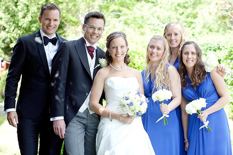 bröllopsbilder på gäster