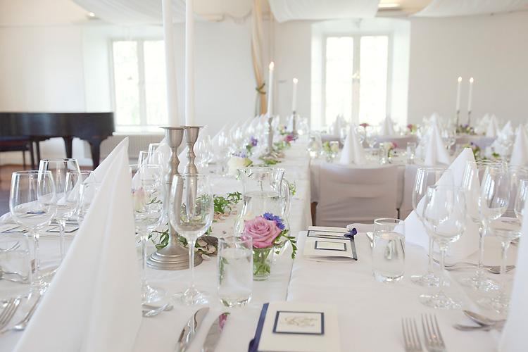 dukning bröllop Skeppsholmsgården