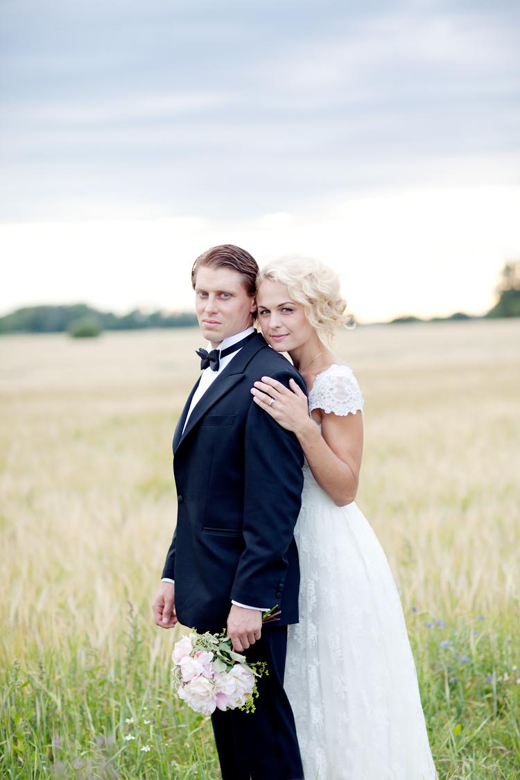 Ida Sjöstedt brudklänning i Uppsala