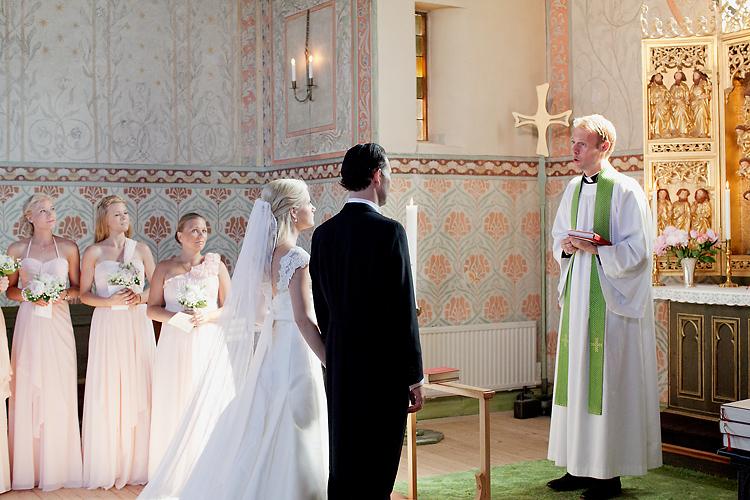 vigsel och bröllop Djursholms kapell