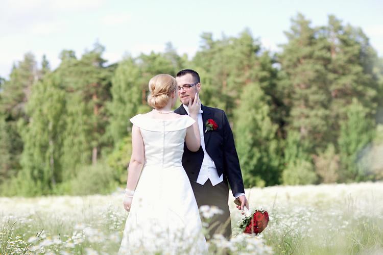 bröllop under svensk sommar
