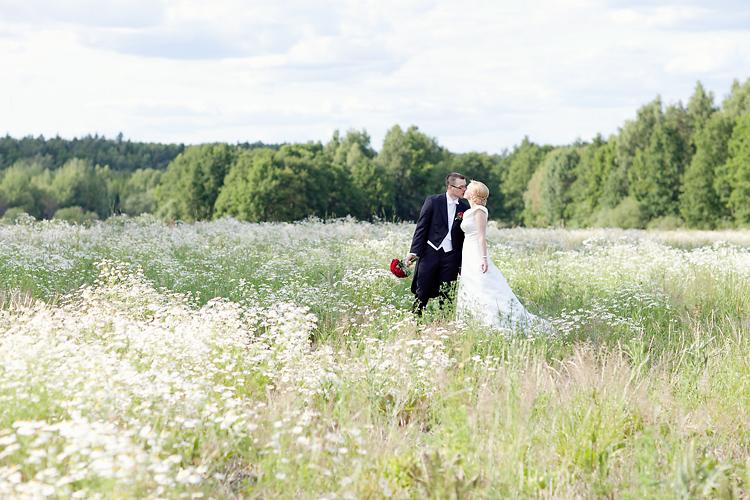 romantiska bröllopsbilder  Ekerö