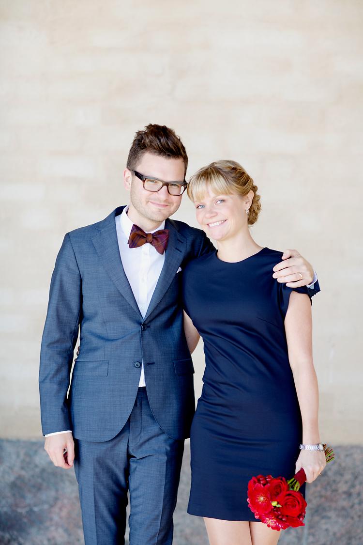 par som gifter sig i Stockholms Stadshus