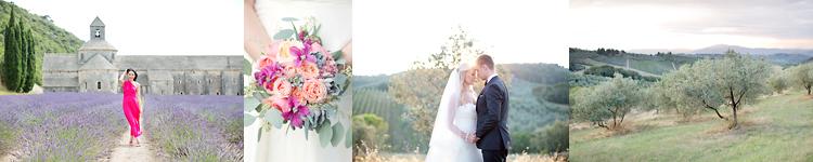 Fotograf Provence och Toscana