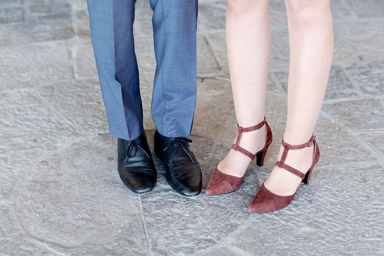 skor bröllop