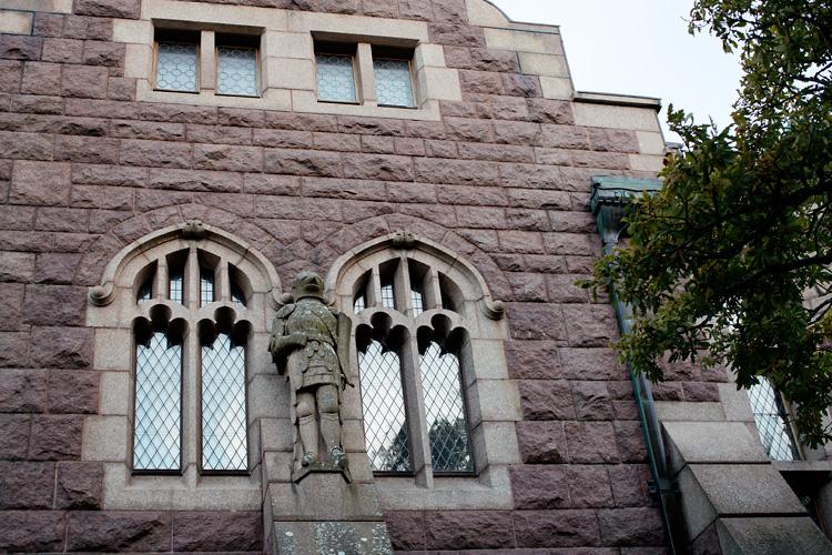 Slott Tudor- stil