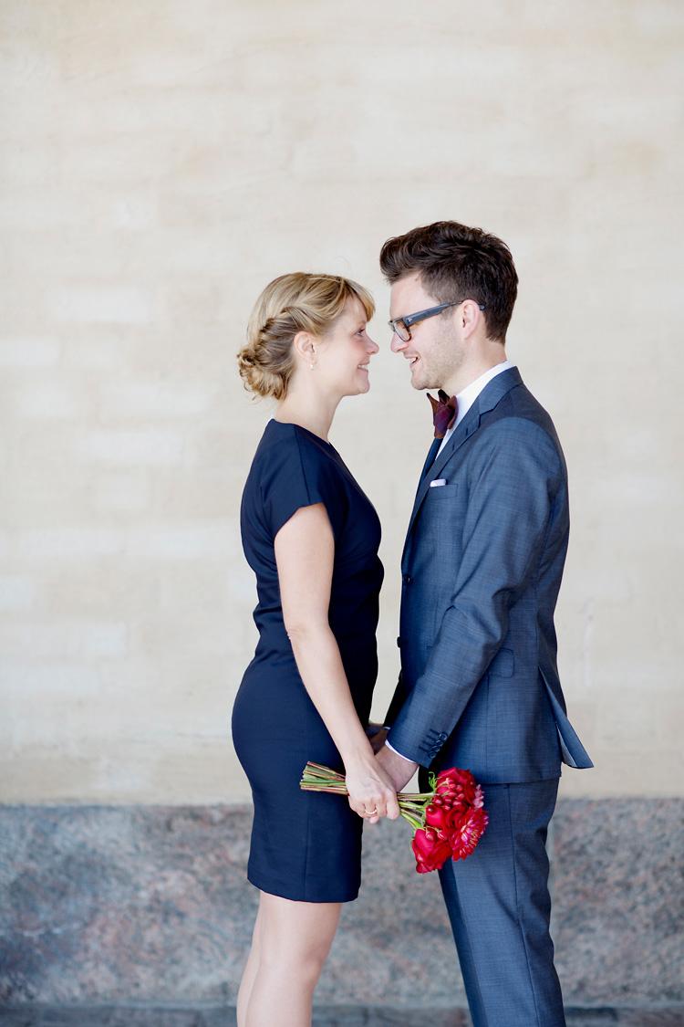 att gifta sig i Stadshuset