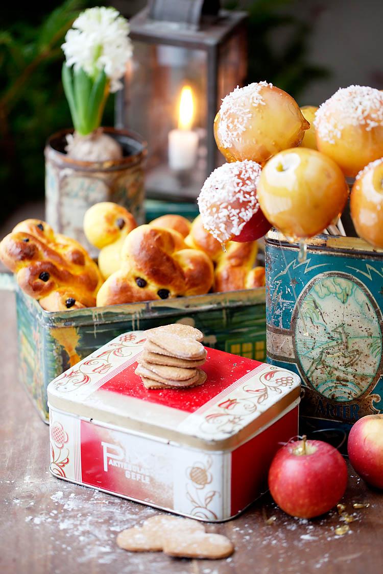 adventsfika och julmys