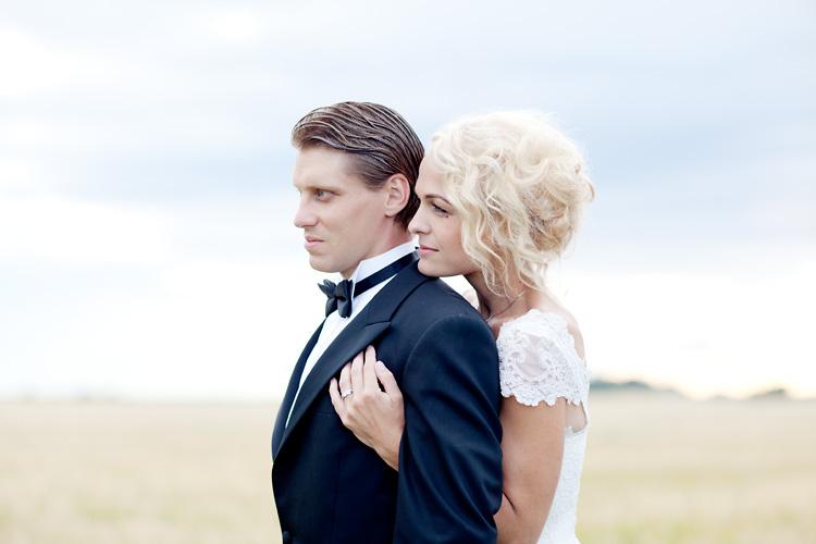 brudpar i Uppsala