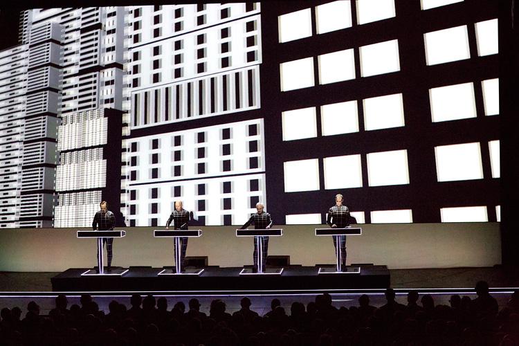 Kraftwerk konsert Stockholm, Cirkus, 21 januari  2014