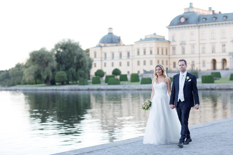 Norskt par gifter sig i Bromma