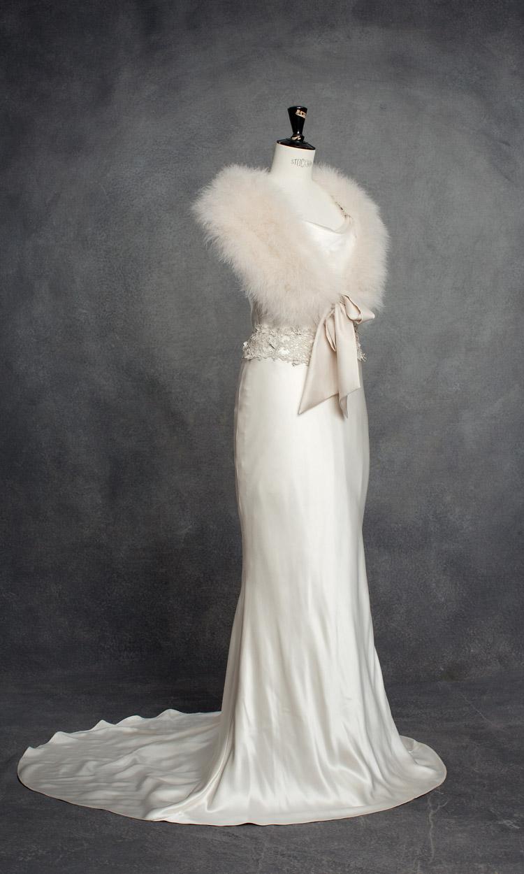 brudklänning Vintage Norall från Garama