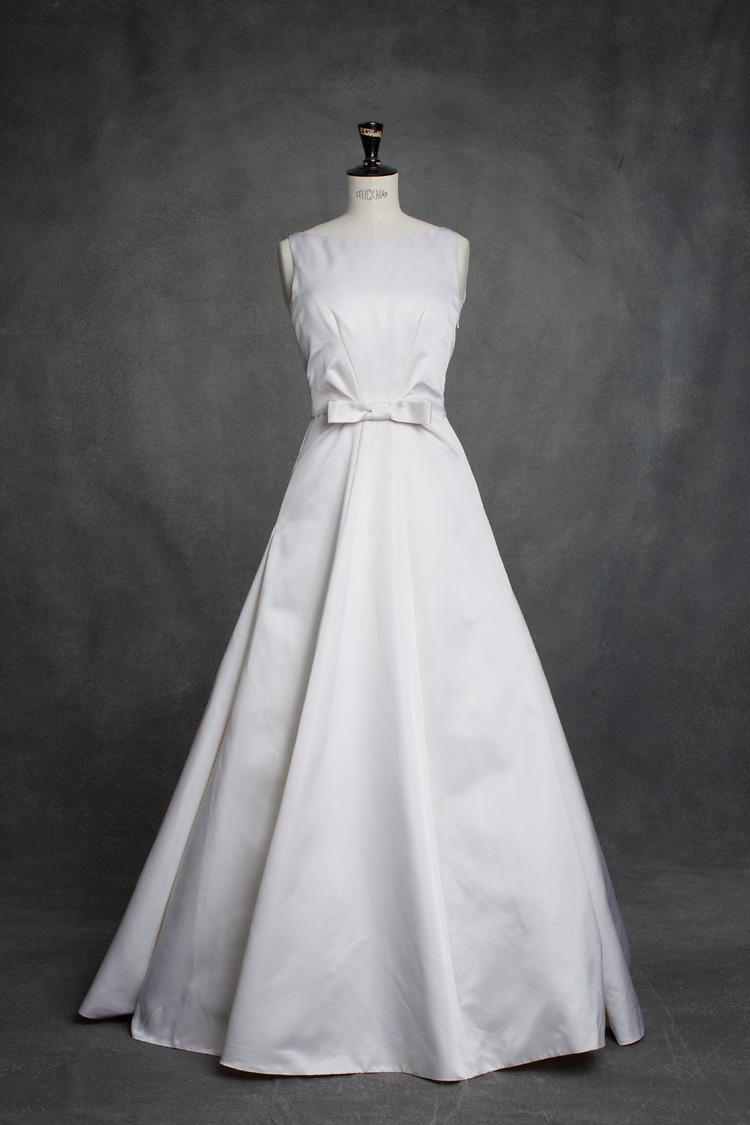 Lars Wallin klassisk brudklänning