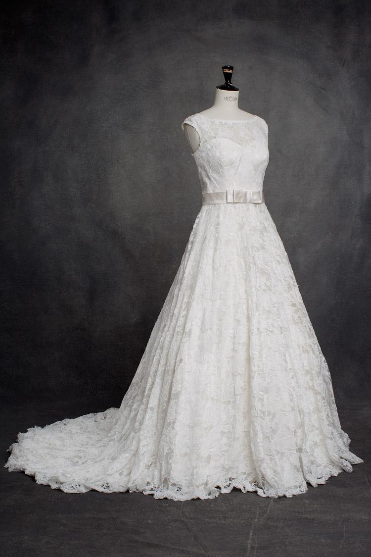 romantisk brudklänning